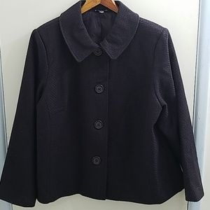 Briggs New York purple wool blazer